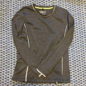 Long sleeve, Fleece Lined workout shirt !